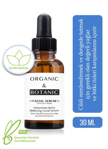 Organic ORGANIC BOTANIC SERUM YÜZ DENGE.AMAZON ÜZÜMÜ30ml Renksiz